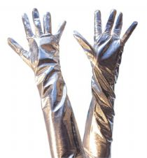 Long Gloves (Silver)
